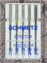 Schmetz Stretch Needle Assorted Sizes 75/11 - 90/14 Pack 5